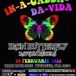 Castiga 5 invitatii la concertul Iron Butterfly din Hard Rock Cafe!