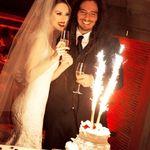 Chitaristul Korn s-a casatorit cu actrita Evis Xheneti