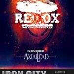 Concert Redox sambata in Iron City Bucuresti