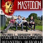 Filmari cu Mastodon in Lisabona