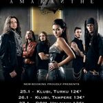 Filmari cu Amaranthe in Finlanda