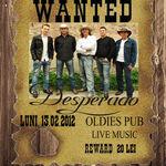 Concert Desperado la Oldies Pub din Sibiu