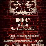 Unholy confirmati pentru Dark Bombastic Evening 4 la Alba-Iulia