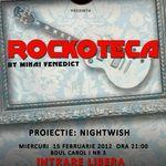 Rockoteca si proiectie Nightwish in Iasi