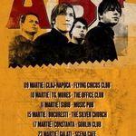 AB4 anunta un turneu in tara in luna martie