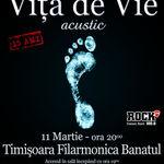 Concert aniversar VITA DE VIE duminica la Filarmonica din Timisoara