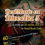 BestMusic cu Directia 5 la Hard Rock Cafe