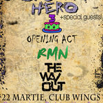 Concert aniversar BACKSTAGE HERO in Club Wings