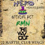 Concert aniversar BACKSTAGE HERO in Club Wings