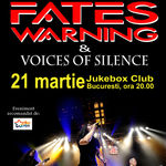 Filmari din turneul FATES WARNING. Concert la Bucuresti