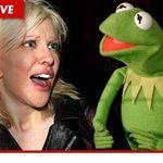 COURTNEY LOVE sustine ca Muppets au violat memoria lui Kurt Cobain