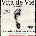 Concert acustic VITA DE VIE in Jukebox Venue
