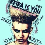 Concert KEIRA IS YOU in club Control din Bucuresti