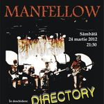 Concert MANFELLOW si DIRECTORY la Ageless Club Bucuresti