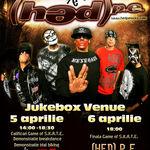 Concert (HED) P.E. in aprilie la Bucuresti