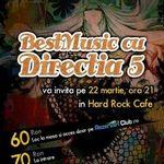 BestMusic cu DIRECTIA 5 joi in Hard Rock Cafe