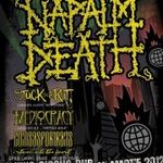 Concert NAPALM DEATH marti in Flying Circus Pub din Cluj