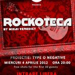 Proiectie TYPE O NEGATIVE in The Rock Iasi