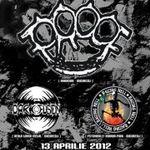 Concert PROOF, RAISING HELL si DARK FUSION in Underworld Bucuresti