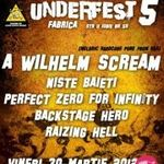 Filmari de la Punk Rock Underfest 2012