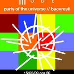 Petrecere inaintea concertului Depeche Mode la Bucuresti