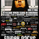 ROCKOTECA METALHED - FRIDAY ROCKS - In Fiecare Vineri in Suburbia !
