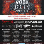 Noi detalii, program si confirmari la Rock City Open Air