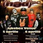 Castiga doua invitatii la concertul (HED) P.E. de la Bucuresti!