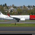 EURONYMUS a fost la un pas de a fi vopsit pe avioanele Norwegian Air
