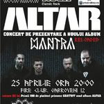 ALTAR concerteaza in Fire Club, miercuri, 25 aprilie