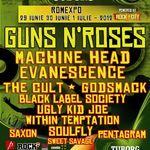 GUNS N ROSES vor canta mai mult de 2 ore la Bucuresti
