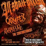 Filmari cu ALL SHALL PERISH in Sacramento
