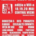Festivalul Club A in Centrul Vechi Bucuresti