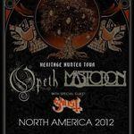 Opeth, Mastodon si Ghost in Canada: Inapoi in Europa!