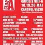 Programul Festivalului Club A din Centrul Vechi Bucuresti