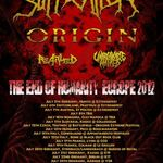 Concert Suffocation si Origin in iulie la Cluj-Napoca