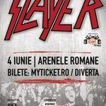 Scrie despre Slayer si castigi doua invitatii la concertul de la Bucuresti!