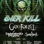 Filmari HQ si interviu cu Overkill in Denver