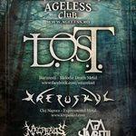 Concert L.O.S.T., KREPUSKUL, MALPRAXIS si APA SIMBETII in Ageless Club