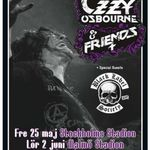 Filmari cu Ozzy Osbourne & Friends in Stockholm
