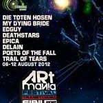 Edguy si My Dying Bride concerteaza la ARTmania Festival Sibiu 2012