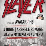 Castigatorii invitatiilor la concertul Slayer de la Bucuresti