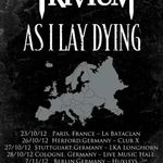 Trivium, As I Lay Dying si Caliban pornesc in turneu european