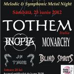 Concert Tothem, Inopia si Monarchy in Ageless Club
