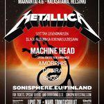 Filmari oficiale cu Metallica la Sonisphere Finlanda