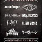 Concert metal caritabil in Club Fabrica. 9 trupe pentru o cauza nobila