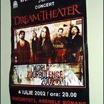10 ani de la primul si singurul concert Dream Theater in Romania