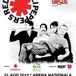 Castiga doua bilete la concertul Red Hot Chili Peppers de la Bucuresti!
