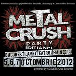 Noi formatii confirmate la Metal Crush Party la Amfiteatrul Eminescu