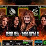 Joaca la pacanele cu Megadeth